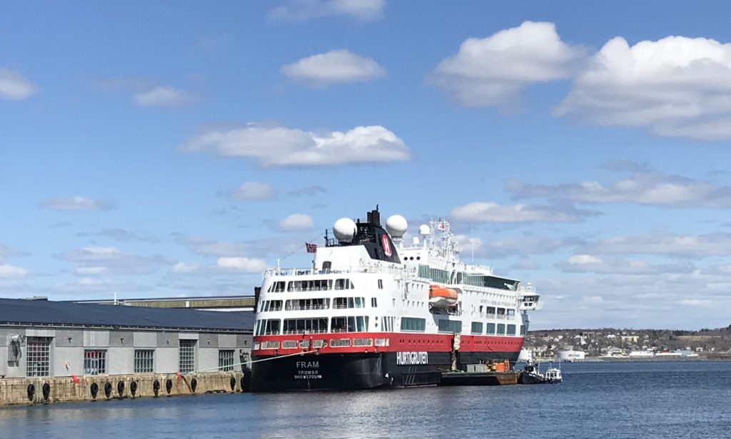 Cruise Season Begins – Fram at Pier 23
