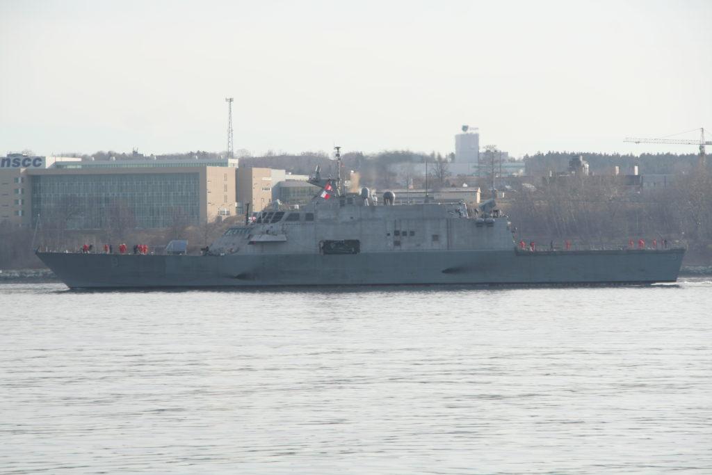 USS Little Rock finally arrives