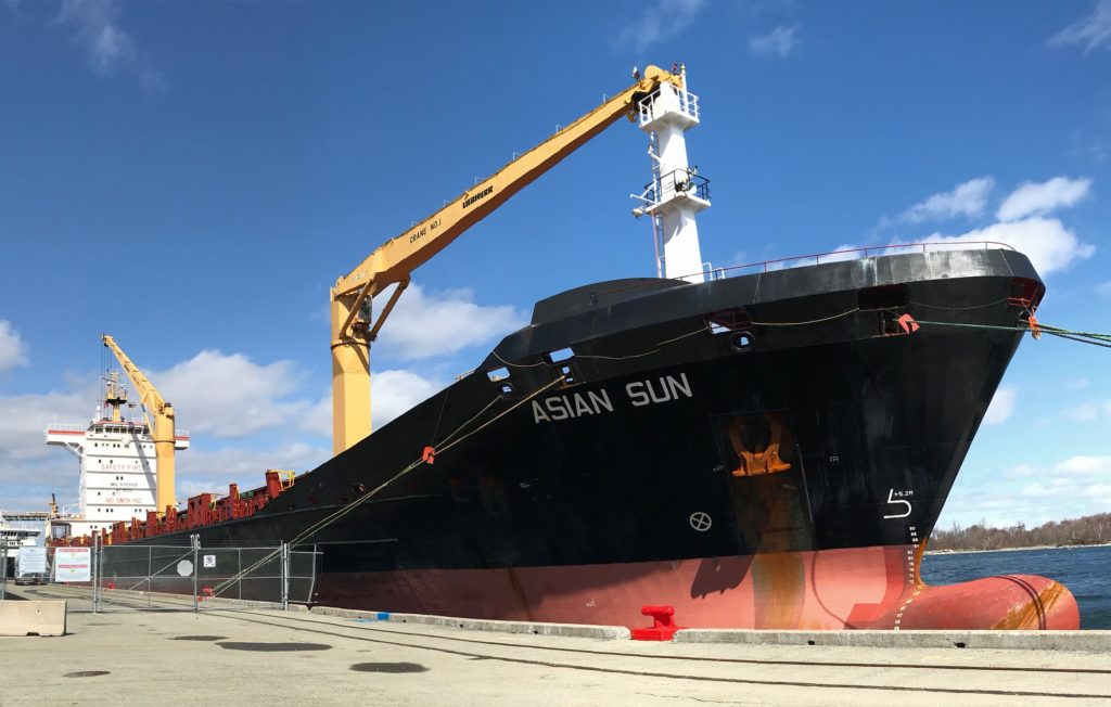 Asian Sun at Pier 9