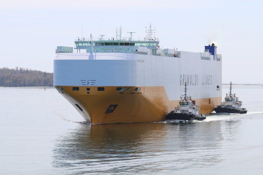 Grande Halifax – Grimaldi PCTC Named after Halifax