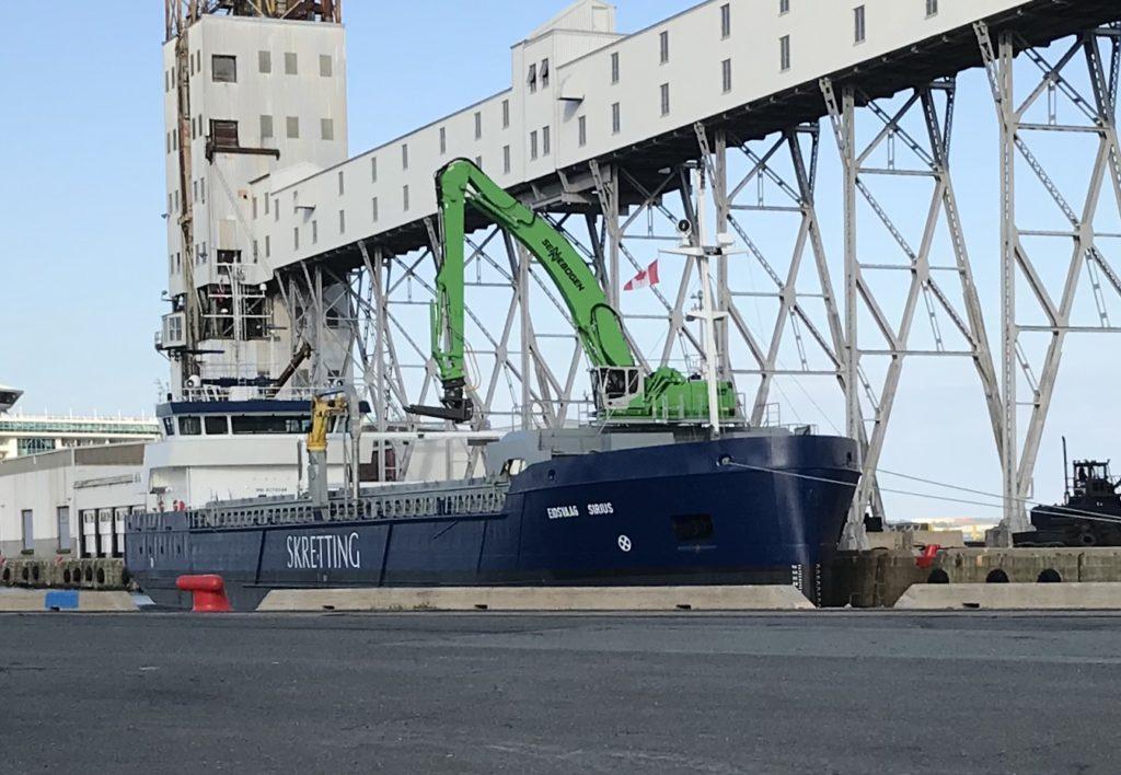 Eidsvaag Sirius – Fish Food Carrier.