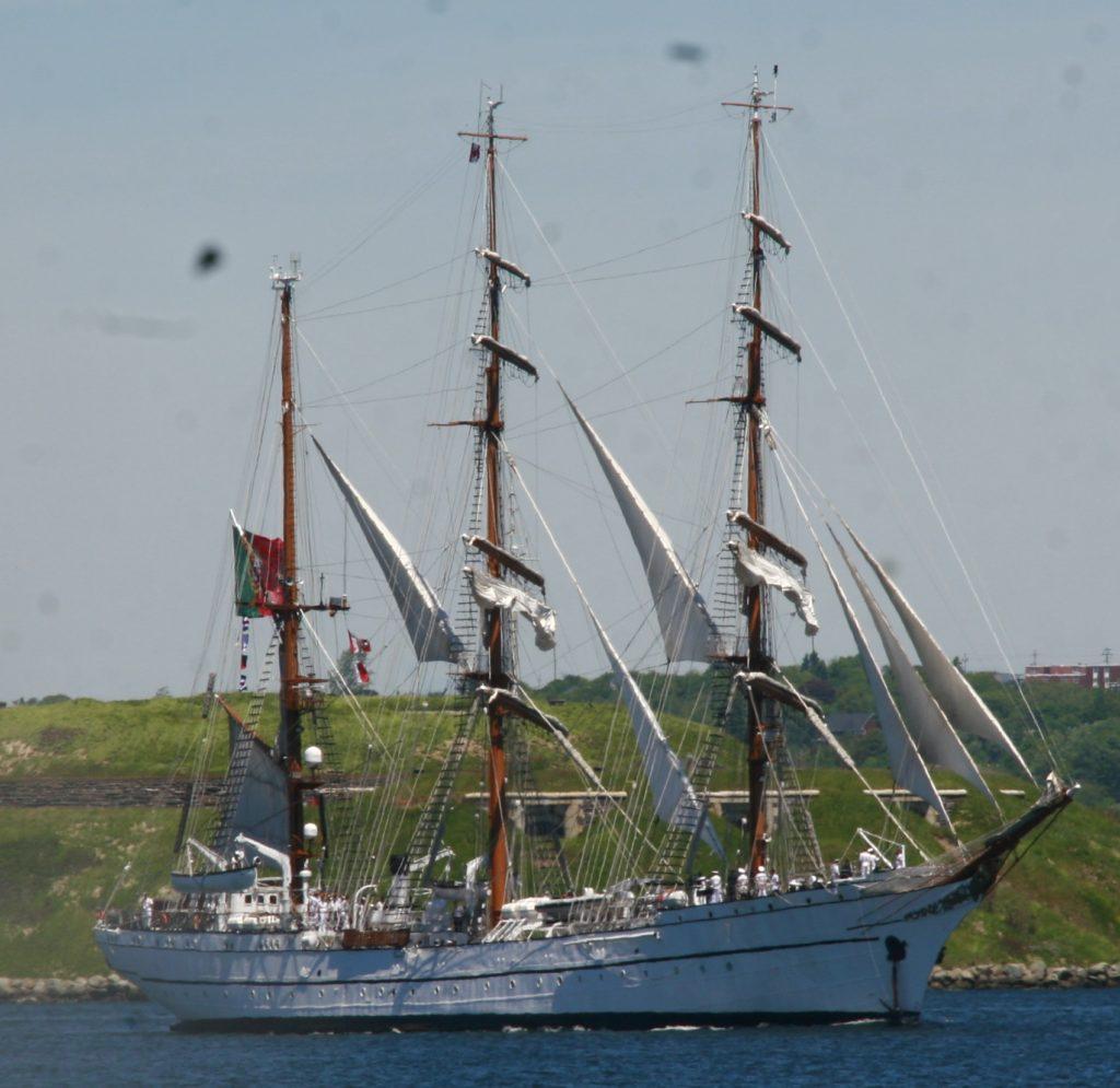 NRP Sagres Sails – Under Sail