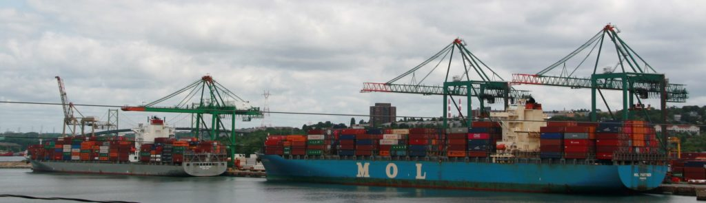 Full House at the Container Piers.