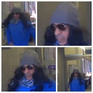 Suspect CIBC Robbery