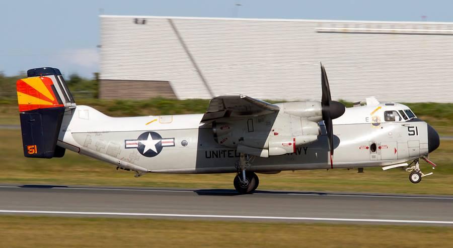 US Aircraft Carrier off NS.