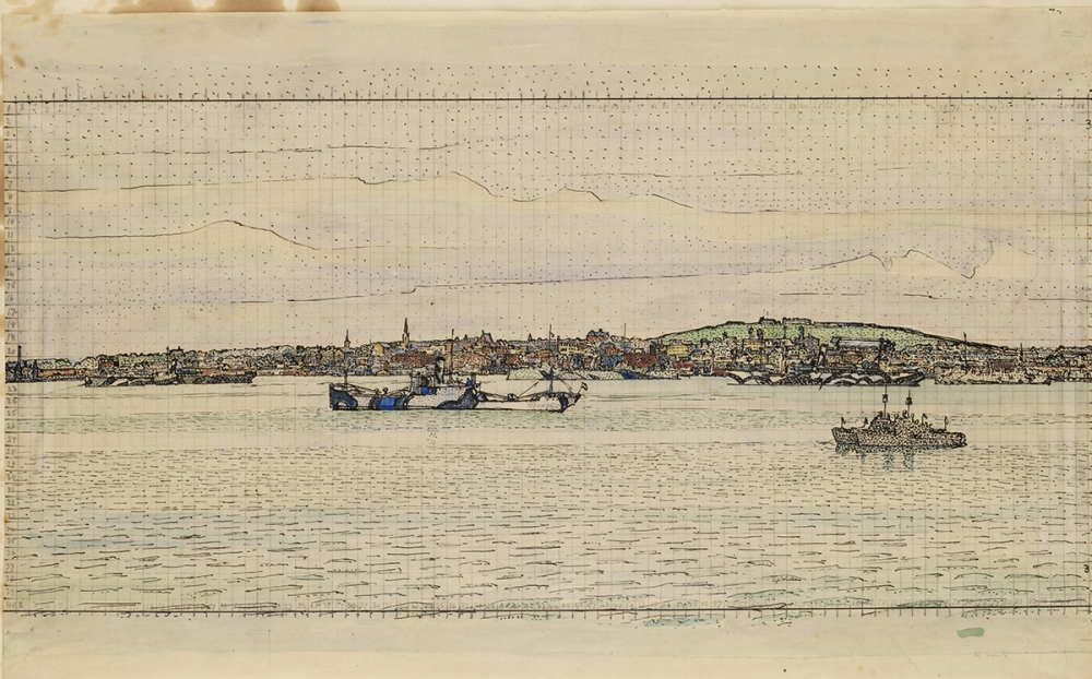 Masterpiece in Focus: Halifax Harbour 1918